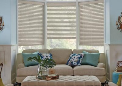 Parkland® Wirebrushed Wood Blinds