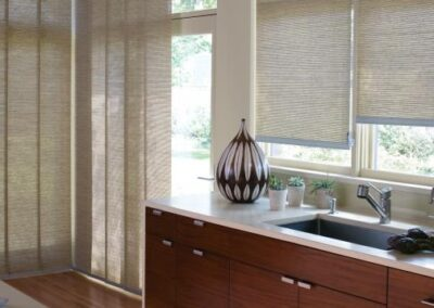 The Alustra® Collection of Skyline® Gliding Window Panels